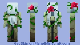 "The Arisen Rose from Campfire Tales Skin Pack (""Modernized"", go look at the credits) Minecraft Skin"