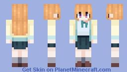 Kanata Konoe Minecraft Skin