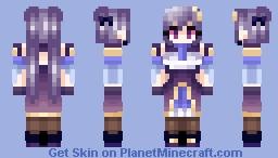 Genshin Impact - Keqing ! Minecraft Skin