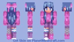 (13) fanvember - angel Minecraft Skin
