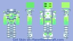 Space mercenary Minecraft Skin