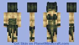 Calypso of the Bog    FameMonster Minecraft Skin