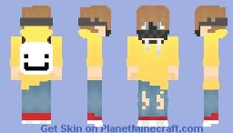 hawk wearing a paintball mask Minecraft Skin