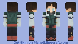 Izuku Midoriya (Personal Version) Minecraft Skin