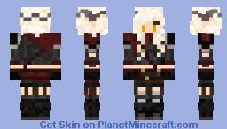 Triss Aduro - Combat Gear - No-eyepatch Minecraft Skin