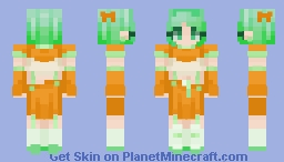Toothpaste and Orange Juice. ~~ You're Welcome Minecraft Skin