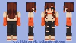 Orange Juice Minecraft Skin