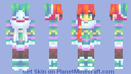 the end Minecraft Skin