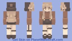Autumn amber Minecraft Skin