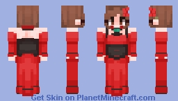 """What kind of taste do I have, I wonder?"" // Banica Conchita // Evil Food Eater Conchita Minecraft Skin"