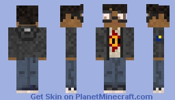 Luccolo, ther nerd young adult. Minecraft Skin