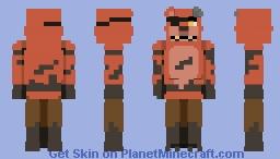 """"""" ...... """" [ FNAF2 ] Minecraft Skin"""