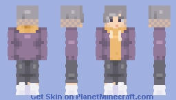 I don't have to be colourful to be pretty Minecraft Skin