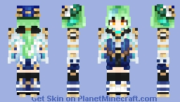 Genshin Impact - Sucrose Minecraft Skin