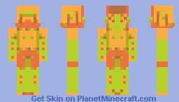 cheese lime // huevember #23 Minecraft Skin