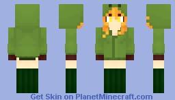 Creeper Girl - [Mob Talker] Minecraft Skin
