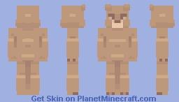 Bear Grillz Minecraft Skin