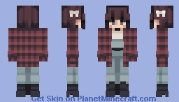 Lumberjack Girlfriend Minecraft Skin