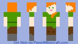 My take on Alex Minecraft Skin