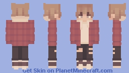 campfire stories Minecraft Skin
