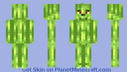 Grinch | Alt in desc Minecraft Skin