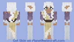 [LoTC] Druidic Wedding Dress Minecraft Skin