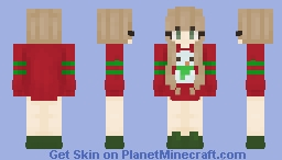 It's beginning to look a lot like Christmas Minecraft Skin