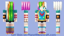 Planet chan Minecraft Skin