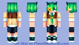 𝑣𝑜𝑛𝑘 | 𝐹𝑎𝑛𝑣𝑒𝑚𝑏𝑒𝑟 Minecraft Skin