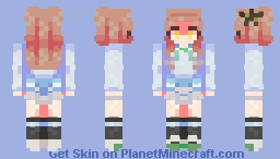 + Ririka Kenzaki + Minecraft Skin