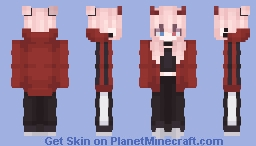 Red Demon Minecraft Skin