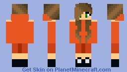 Fall Hoodia girl Minecraft Skin
