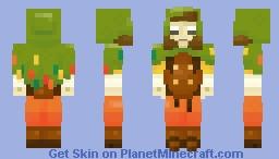 Florus ~ Druidic Wood Elf Minecraft Skin
