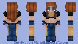 Hawkwoman - Shiera Hall || Justice Craft Skin Minecraft Skin