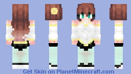 Magical Gals of PMC ~ No.3 Minecraft Skin