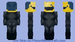 • black rider • Minecraft Skin