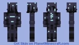 night tied // huevember #29 Minecraft Skin