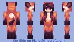 fox onesie Minecraft Skin