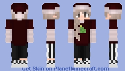 sapnap girl but it'S XMAS HECK YES Minecraft Skin