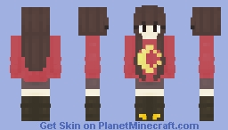 For my sis :D Minecraft Skin