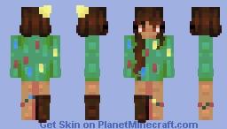 christmas tree - twelve days of skinmas Minecraft Skin