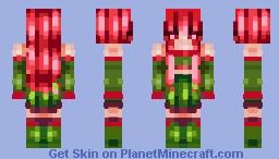 *-* Skinmas Day 1 *-* Holly Minecraft Skin