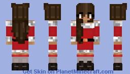 heavengld christmas Minecraft Skin