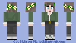 Green Blouse Minecraft Skin