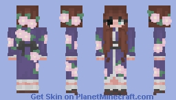 [edit] kimono girl (My OC) Minecraft Skin