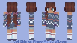 cozy - twelve days of skinmas Minecraft Skin