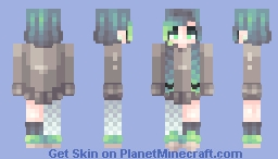 I like cool colors too much :p Minecraft Skin