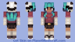 """""""Well, That's Not Ideal"""" // New Persona Minecraft Skin"""