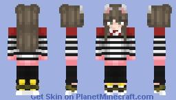 MaJIinkA Minecraft Skin