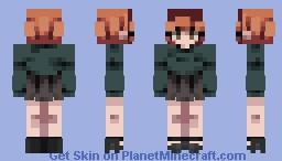 Beth Harmon - Queen's Gambit Minecraft Skin